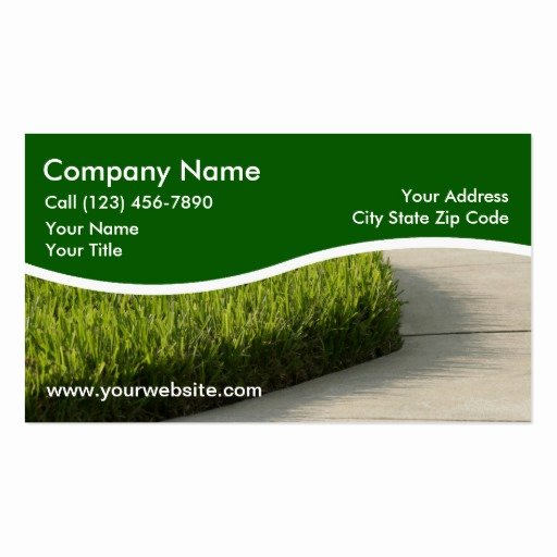 Landscaping Business Card Templates Page2