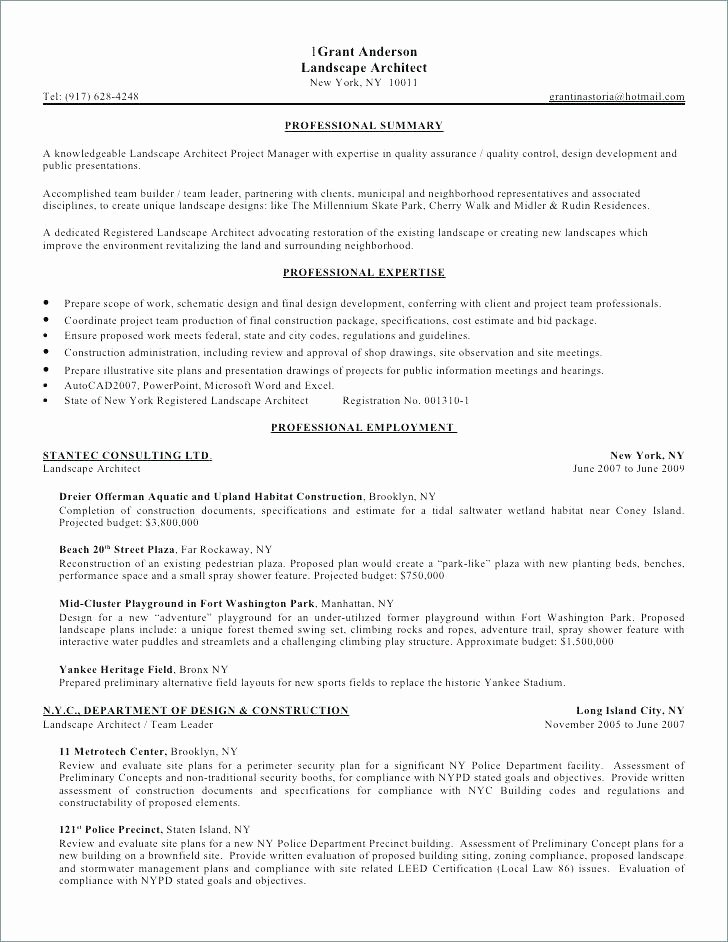 Landscaping Resume – orlandomoving