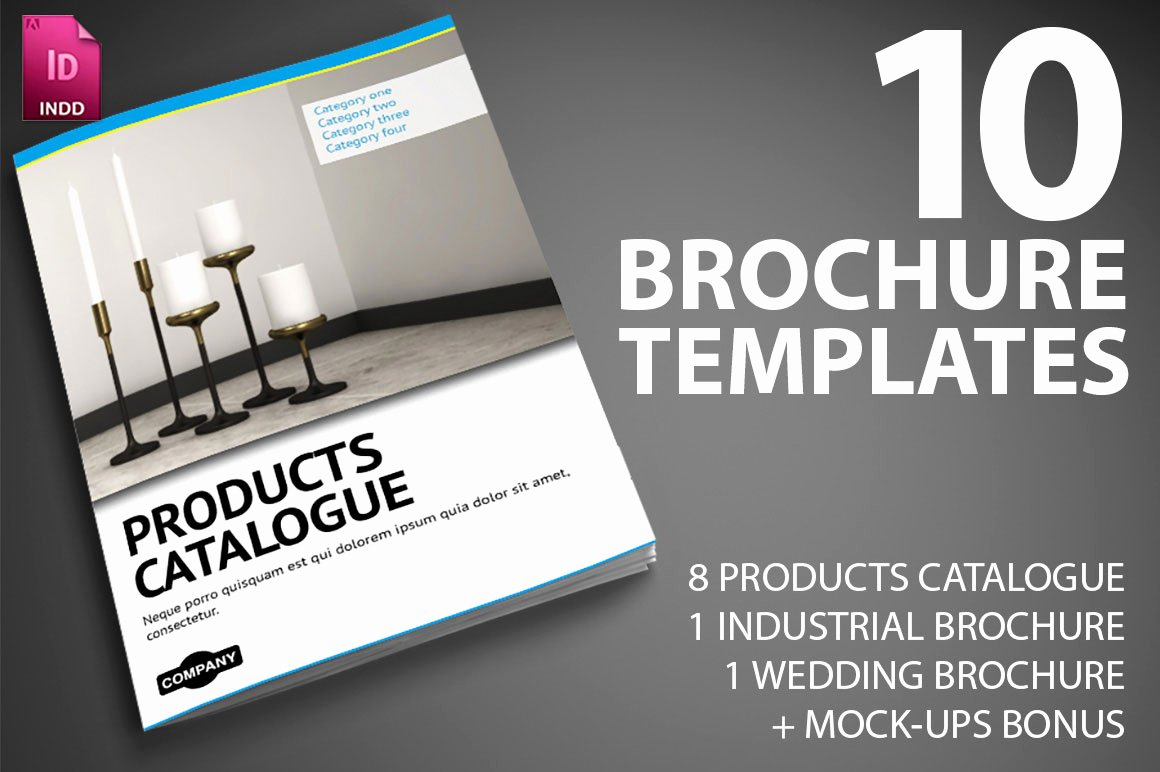 Last Day 10 Professional Indesign Brochure Templates From
