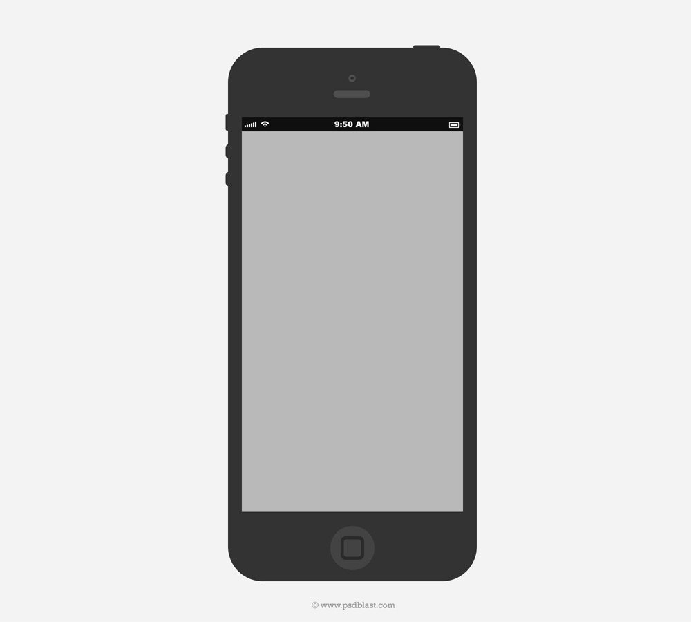 Latest Collection Of iPhone Wireframe Psds › Wireframes