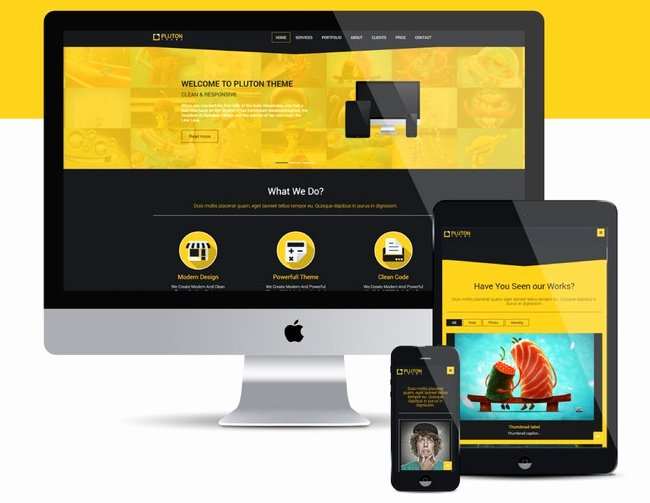Latest Free Responsive HTML5 Css3 Website Templates 2015