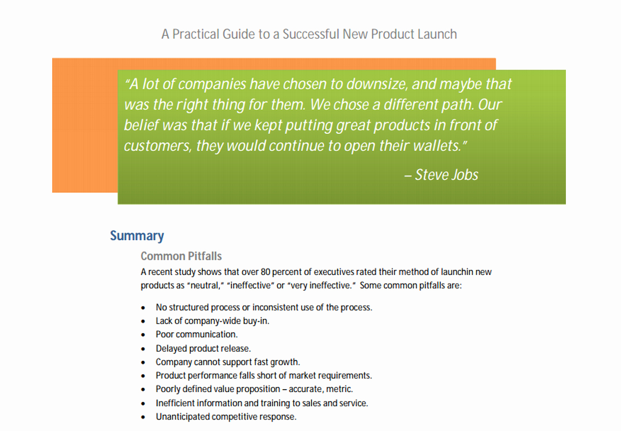 launching spaceship essentials product launch processes