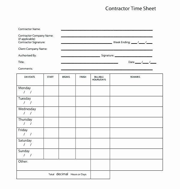 Law Firm Invoice Template Free attorney Billable Hours