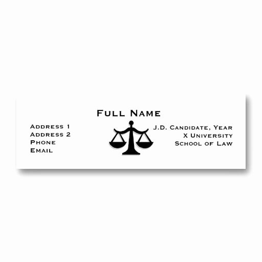 Law Student Business Card Sample Archives Adktrigirl