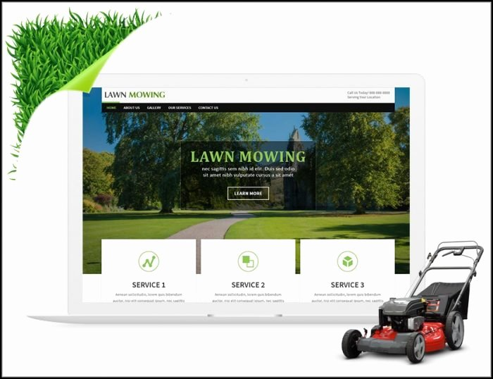 Lawn Care Bid Proposal Template Free Template 2 Resume