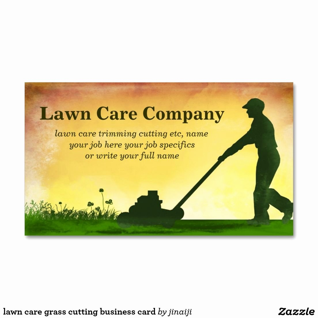 Lawn Care Business Card Templates Business Card Design
