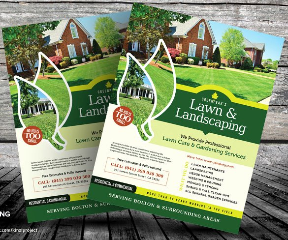 Lawn Care Flyers – 28 Free Psd Ai Vector Eps format