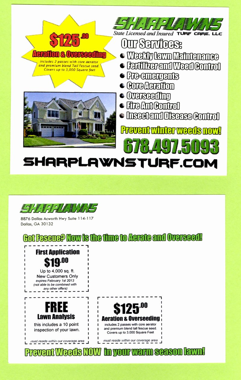 Lawn Care Flyers Templates Microsoft Bing Images