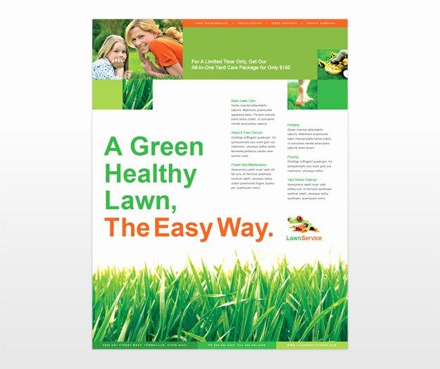 Lawn Maintenance Business Services Flyer Templates