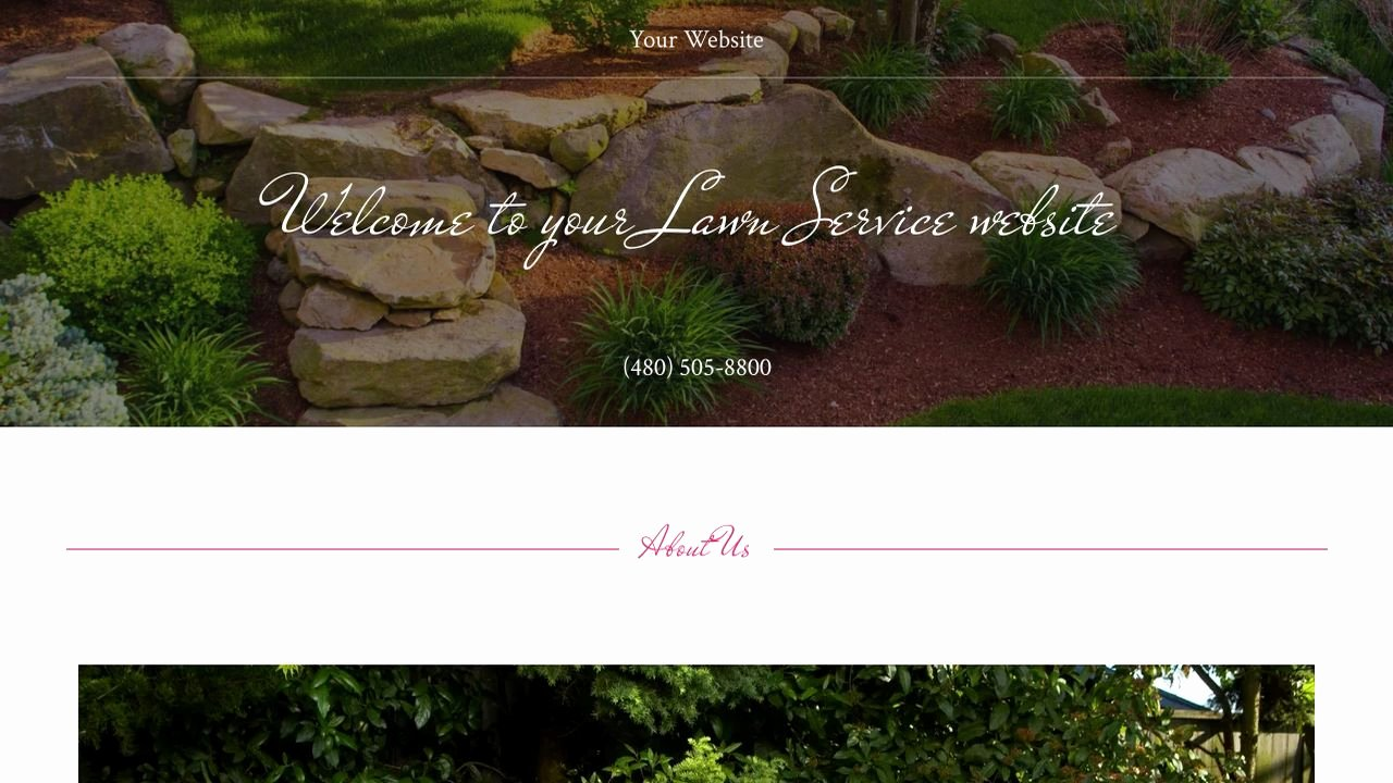 Lawn Service Website Templates