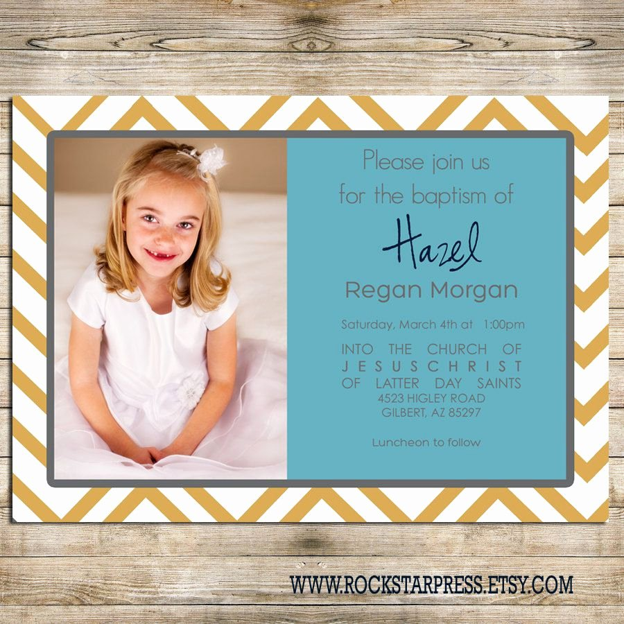 Lds Baptism Invitations order Lds Baptism Invitations