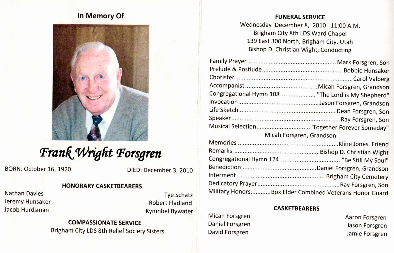 Lds Funeral Quotes Quotesgram
