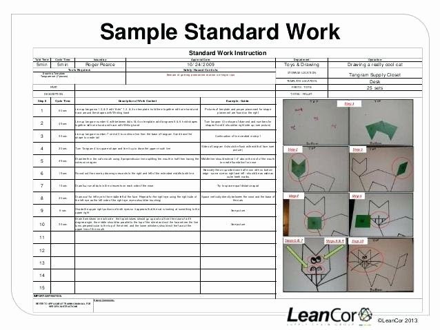 Lean Standard Standardized Work Training Module Web