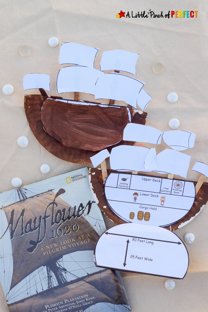 Learning About the Mayflower Paper Plate Craft and Free