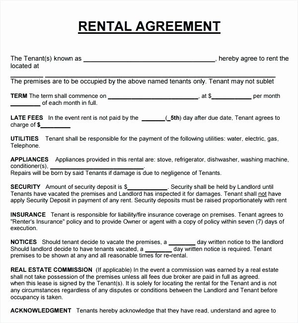Lease Agreement for Rental House Uploaded by Lease