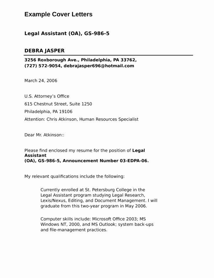Legal Ficer assistant Cover Letter Samples and Templates