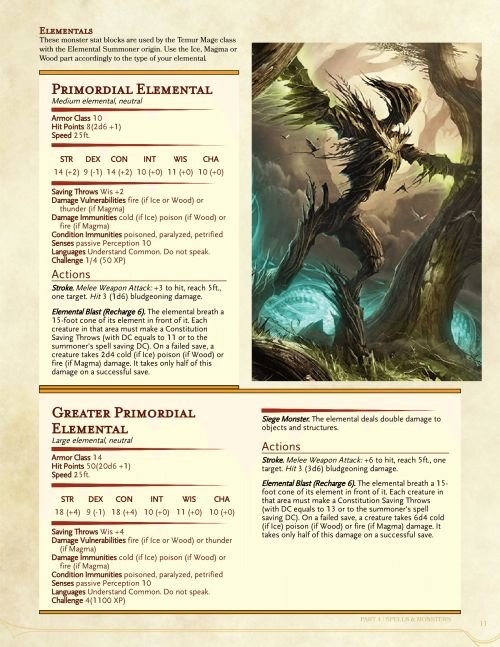 Dnd 5e Homebrew Class Template | Latter Example Template