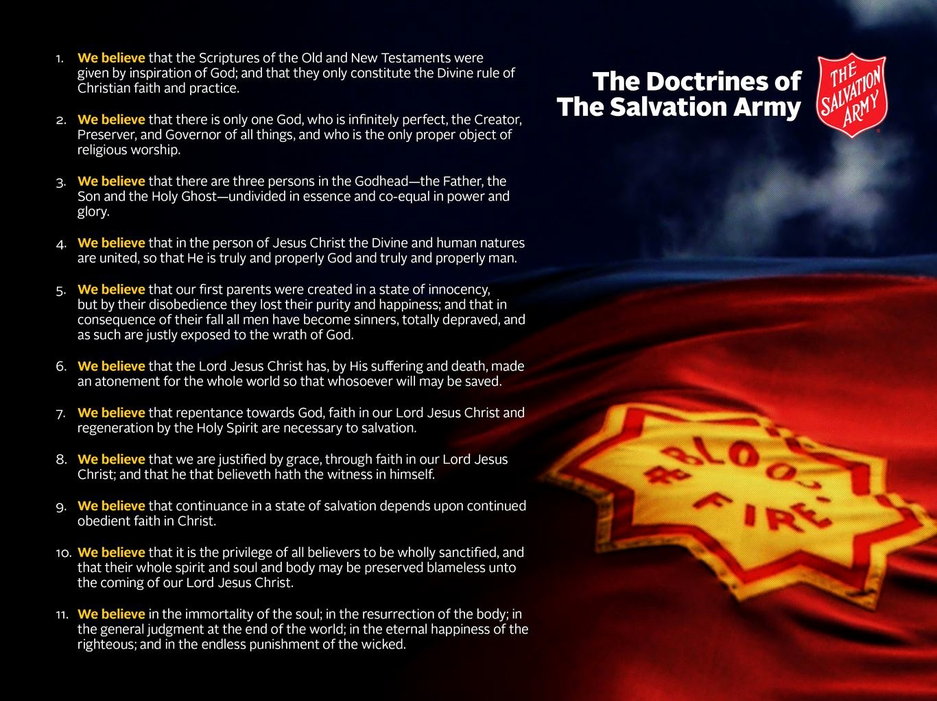 Lesson 10 Covenant & sol Rship – Armyof Passion