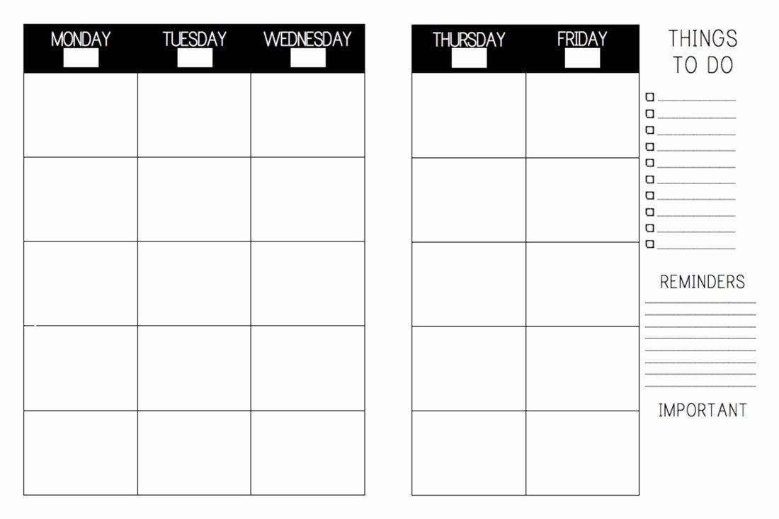 Lesson Plan Book Template Printable