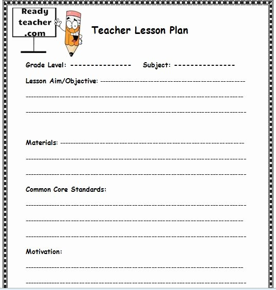 Lesson Plan İmages