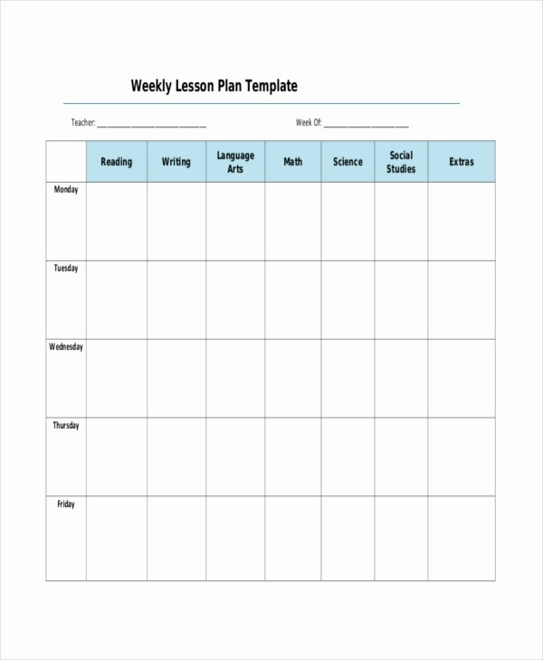 Lesson Plan Template 17 Free Word Pdf Documents