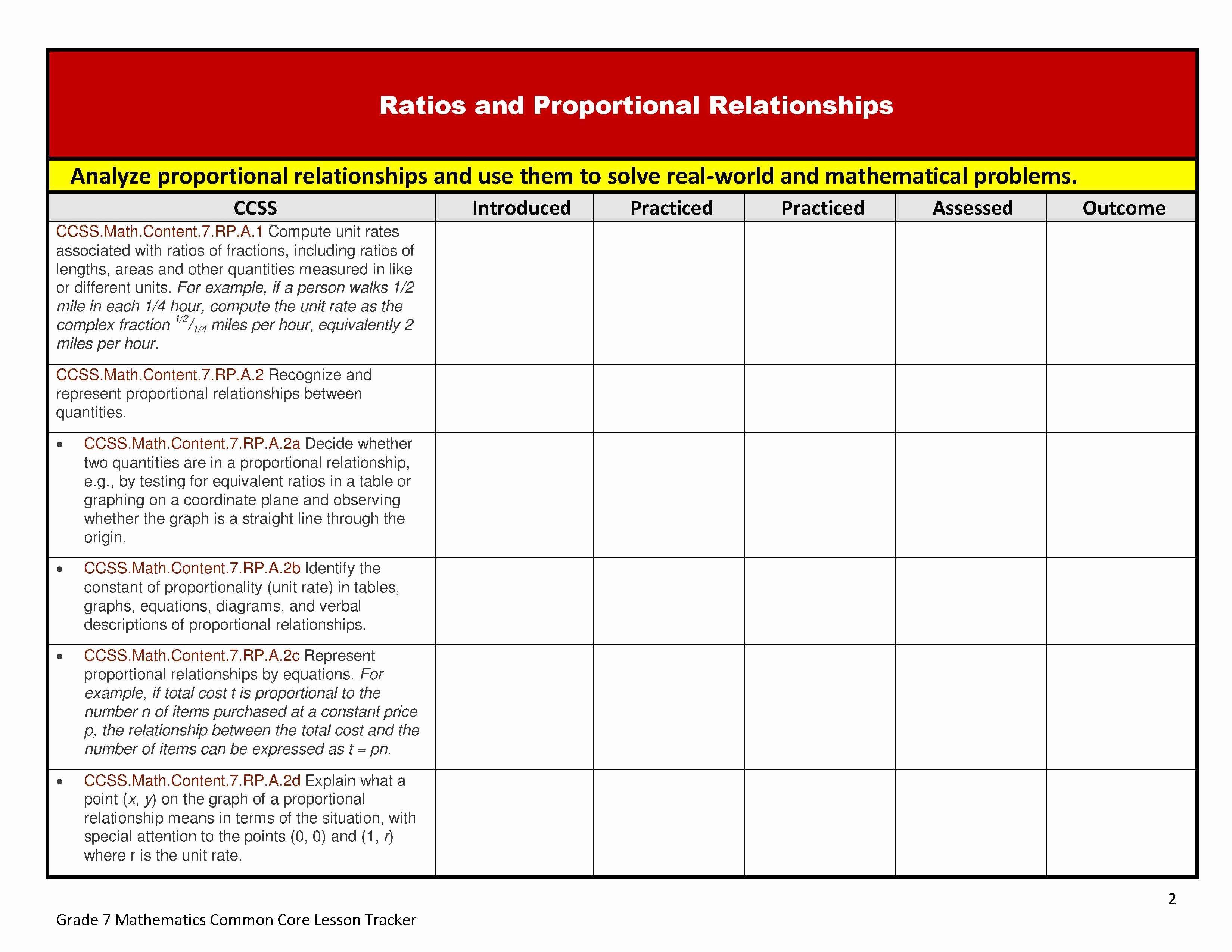 lesson plan template for math teachers