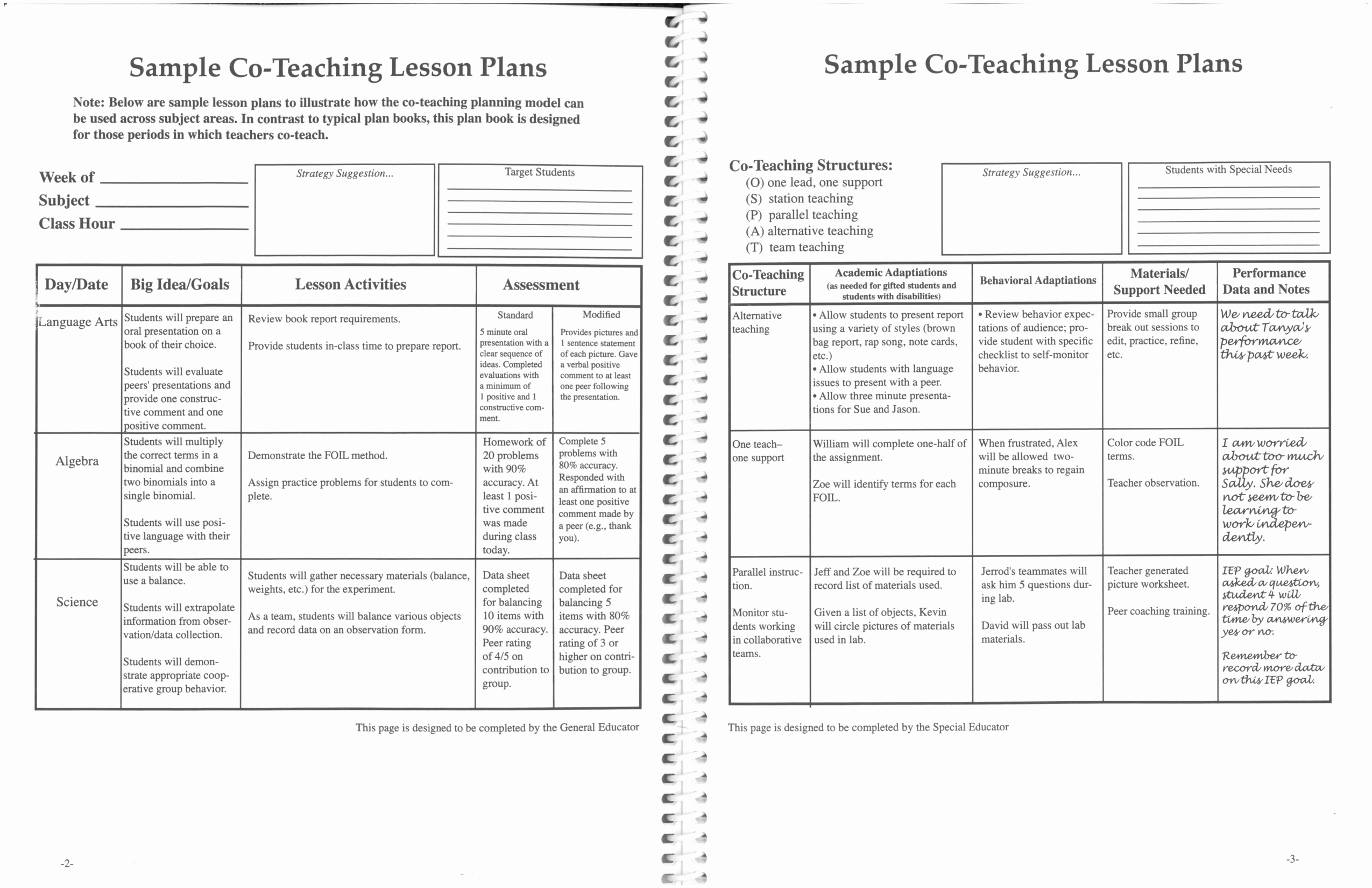 Lesson Plan Template Nz