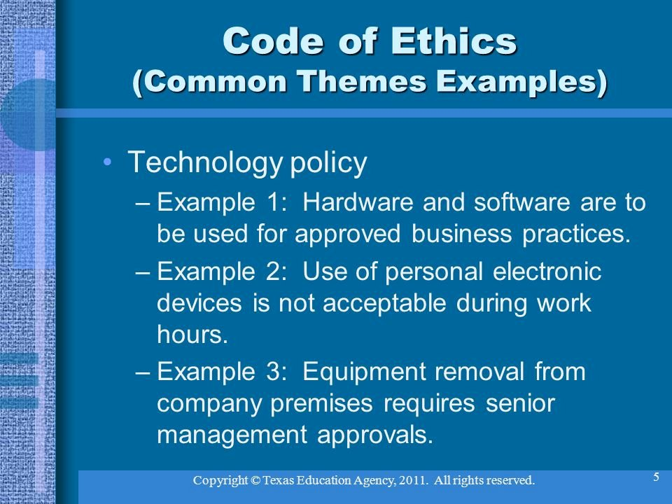 Lets Talk About Ethics Ppt