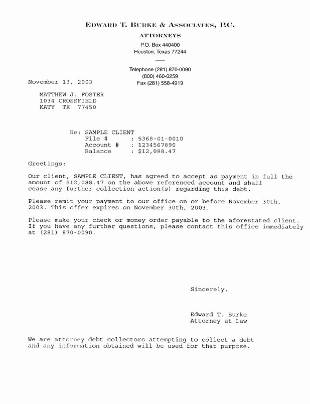 letter of agreement samples template