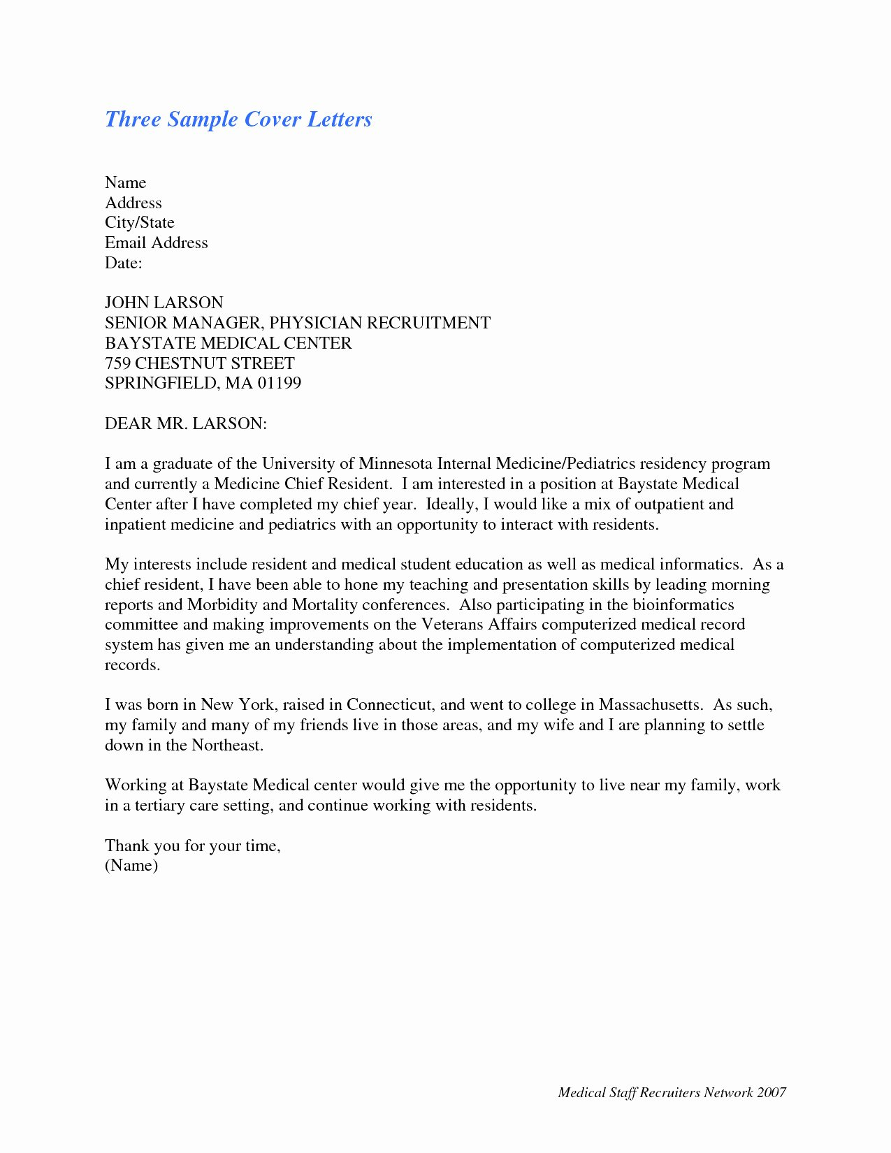 letter of interest for promotion template