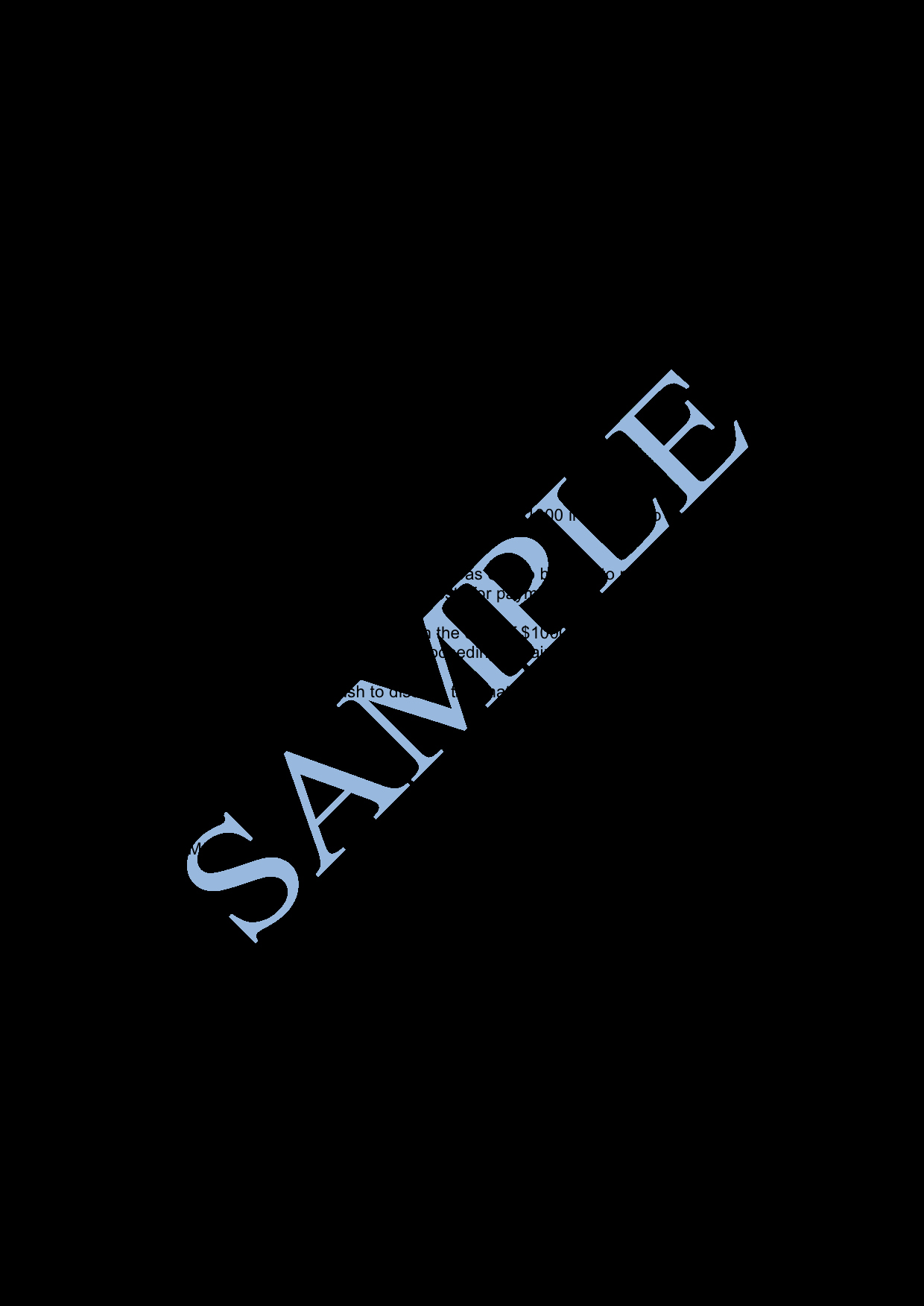 Letter Of Demand Sample Lawpath