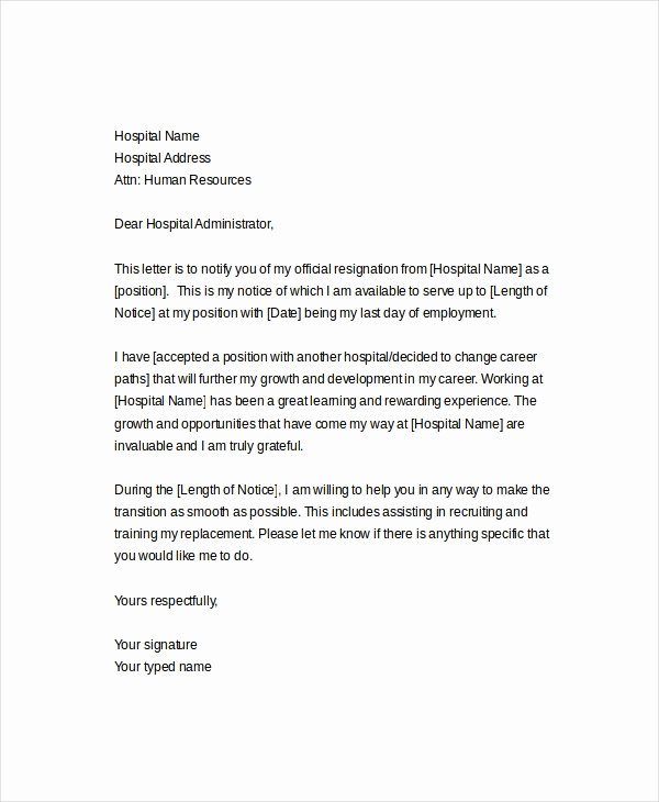 Letter Of Resignation Template 17 Free Word Pdf