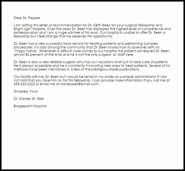 Letter Re Mendation for Babysitter