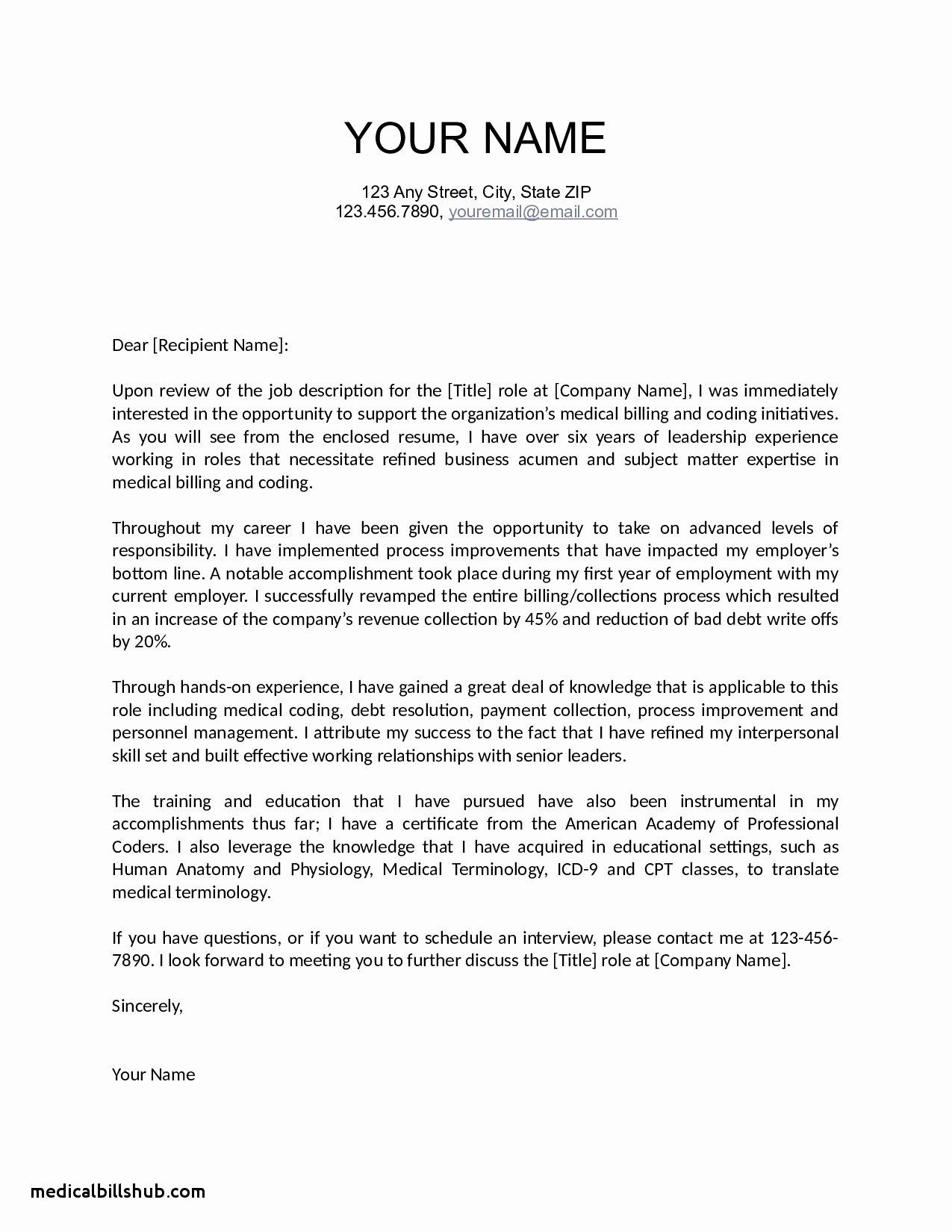 Letter Re Mendation for Medical assistant