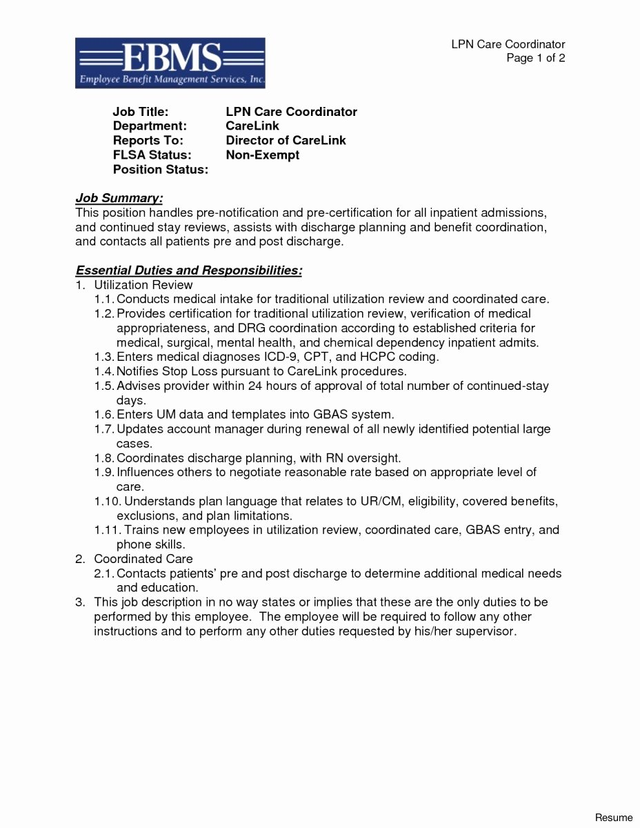 Letter Re Mendation Template for Lpn – Profesional