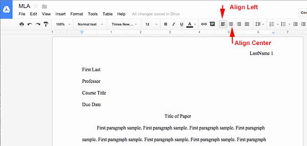 Letter Template for Google Docs