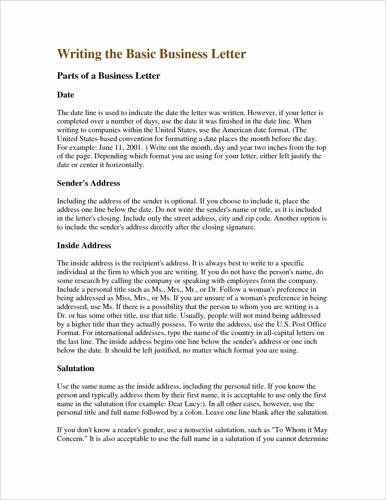 Letters Writing Examples Cover Letter Samples Cover