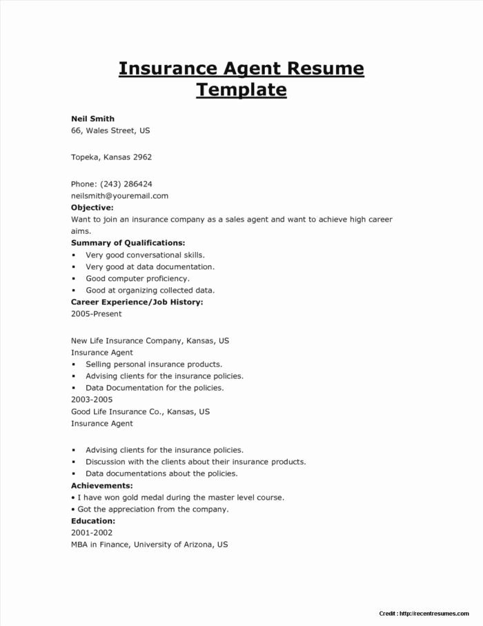 Life Insurance Brochure Template Templates Resume