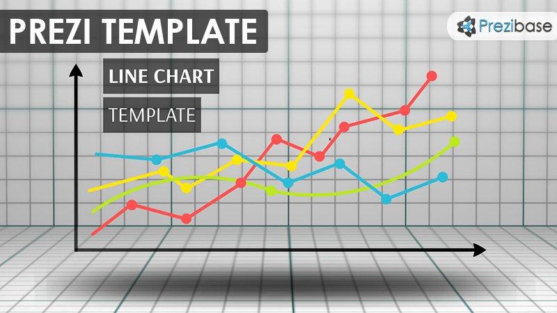 Line Chart Prezi Template
