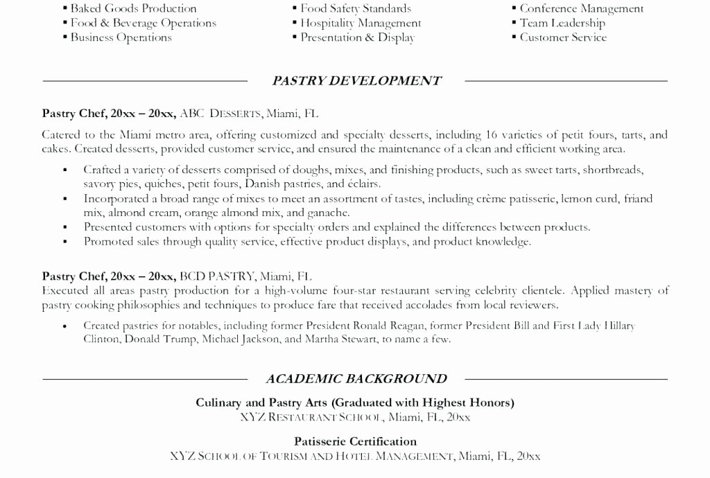 Line Cook Resume Examples Printable Line Cook Resume Lead