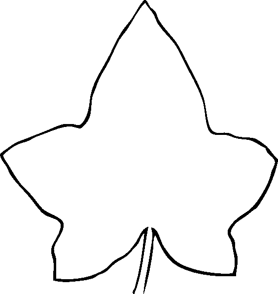 Line Drawing Leaf Clip Art at Clker Vector Clip Art