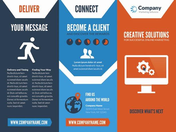 Line Marketing Brochure Psd Vandelay Design