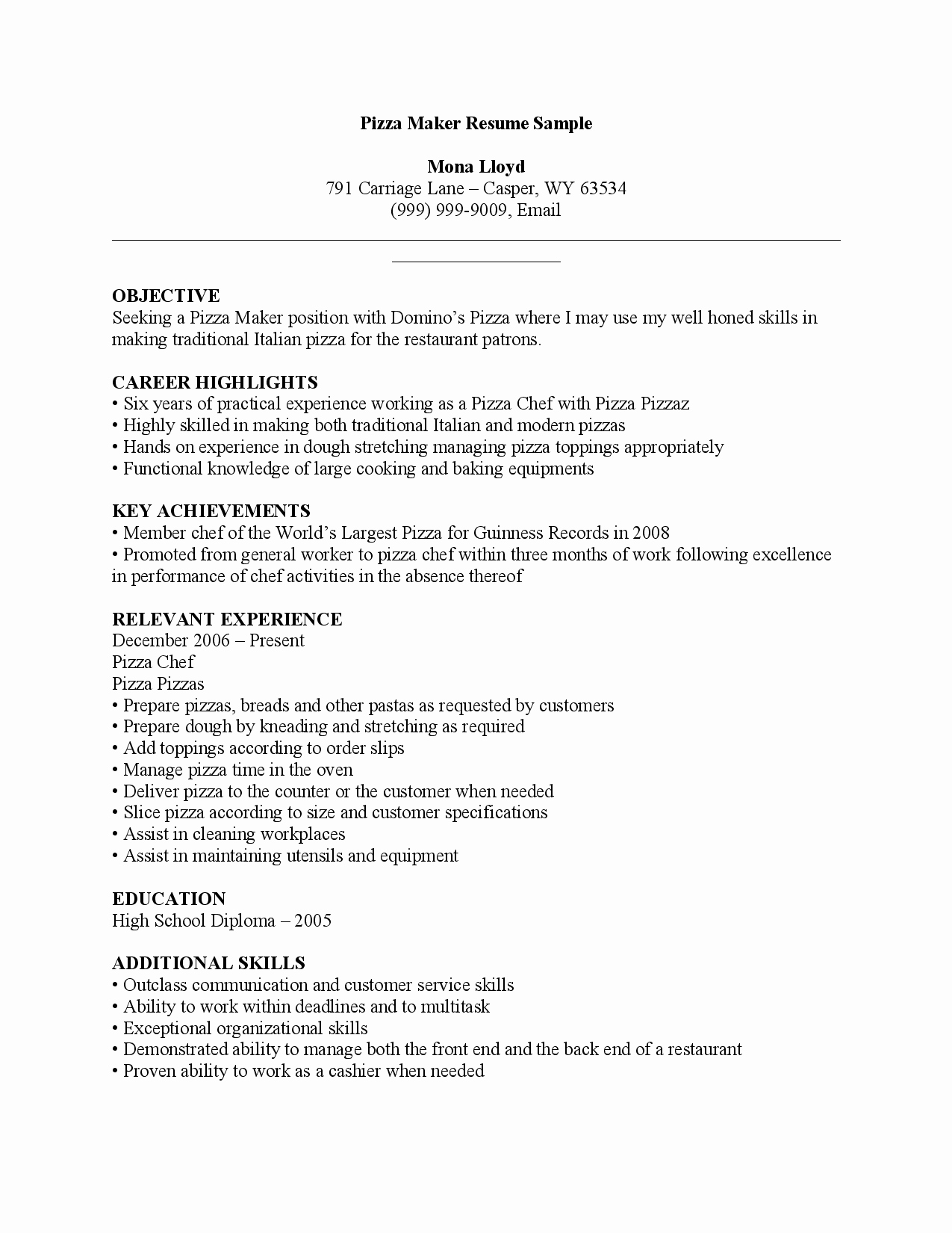 Line Resume Maker Best Template Collection
