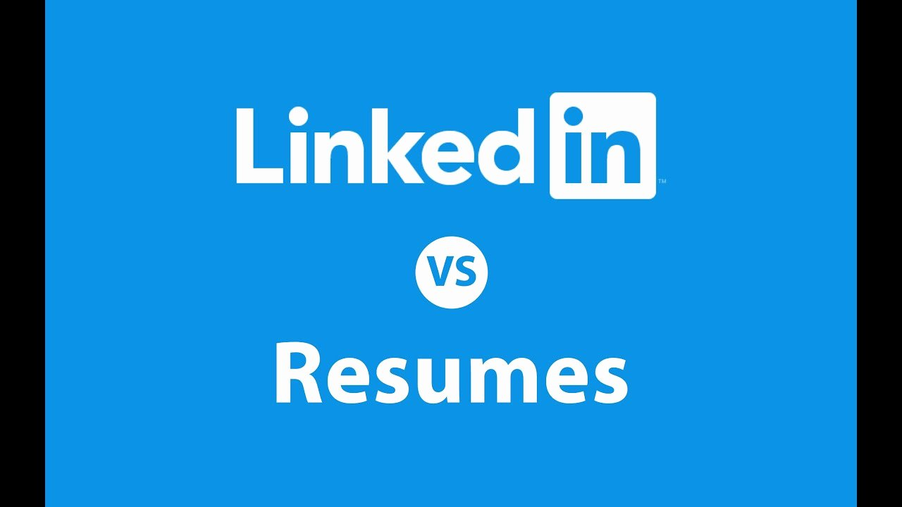 Linkedin Vs Resume who Wins the Battle