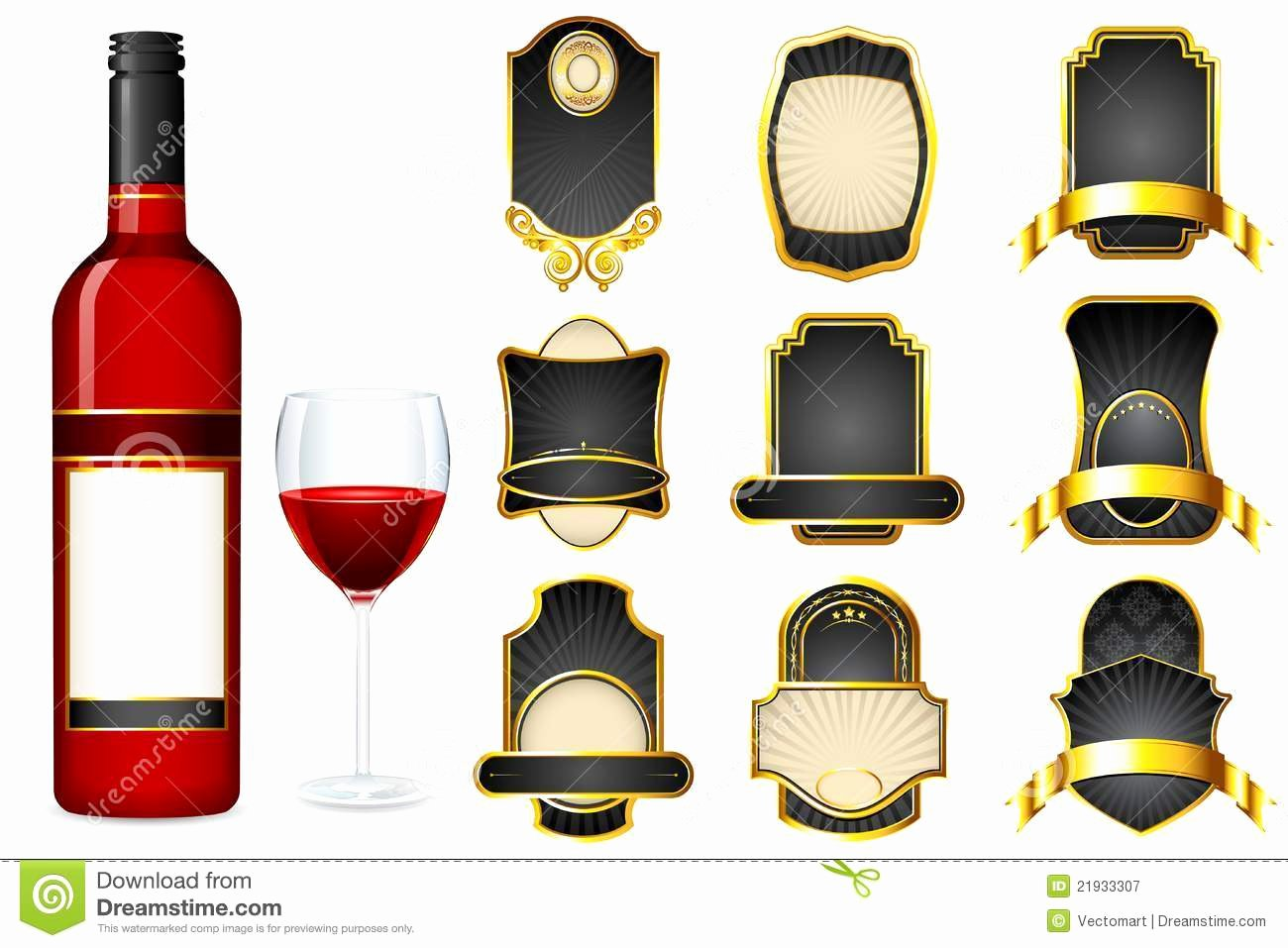 Liquor Label Template
