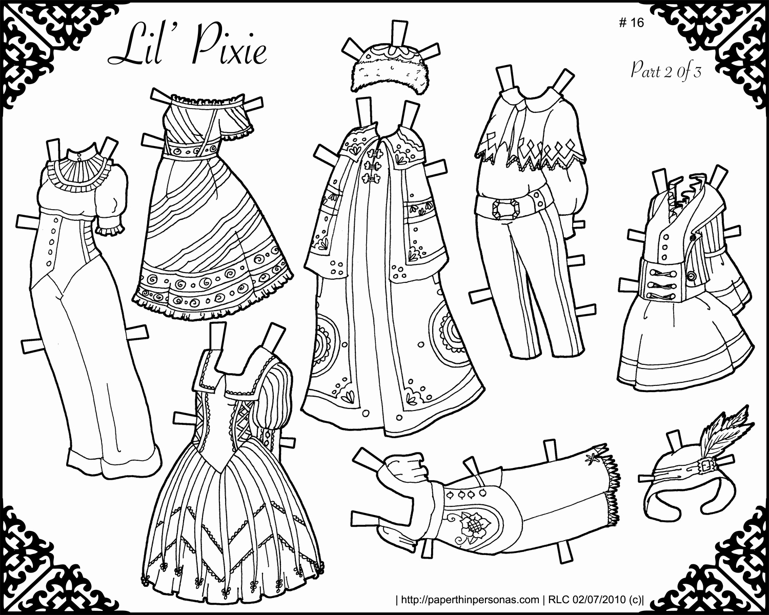 Little Pixie Archives • Paper Thin Personas