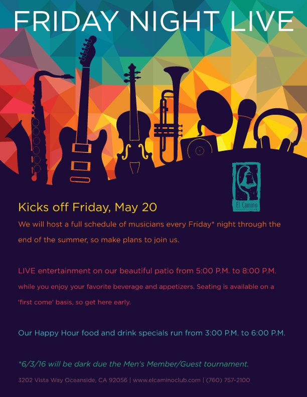 Live Music event Flyer Poster Template Conc In Abstract