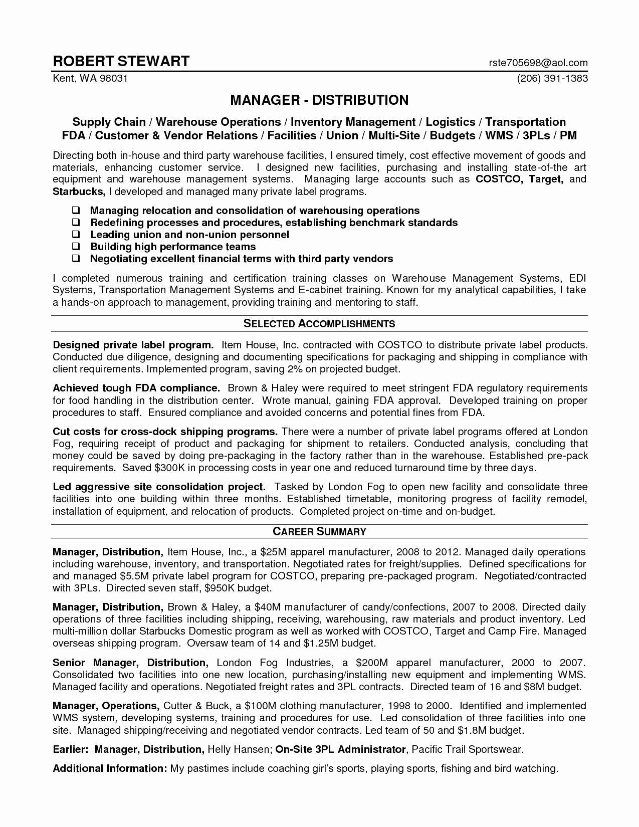Logistics Coordinator Job Description Sarahepps