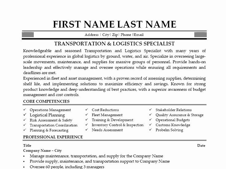 Logistics Supervisor Job Description Sarahepps