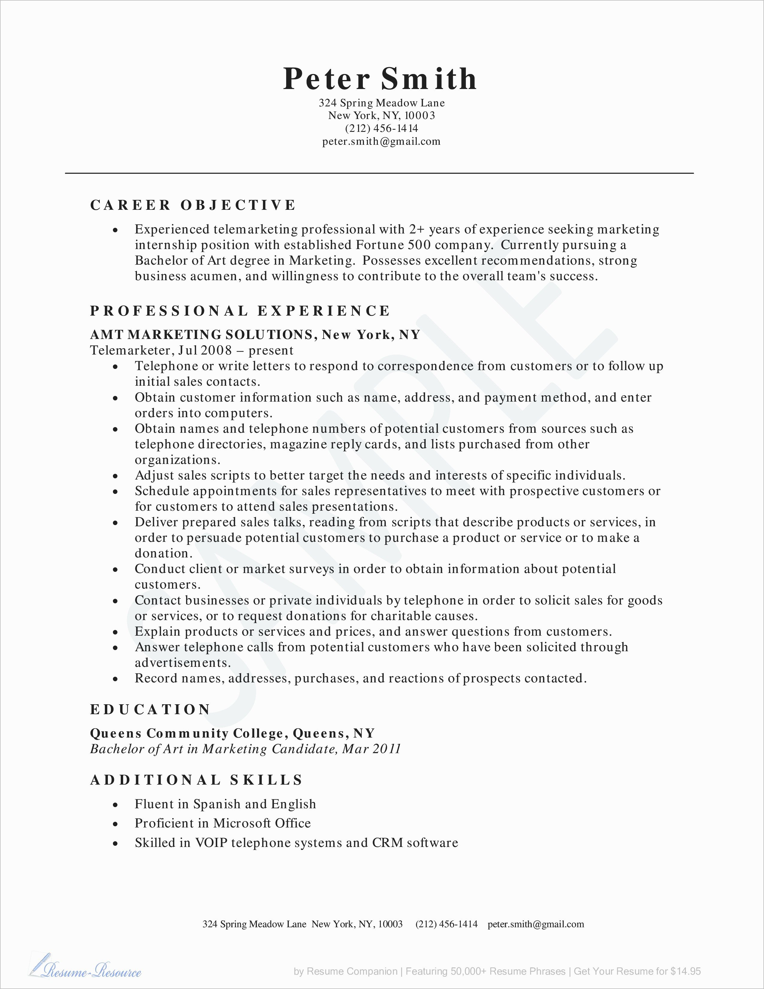 Lovely General Resume Summary Resume Ideas